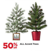 All Accent Trees - 50% off